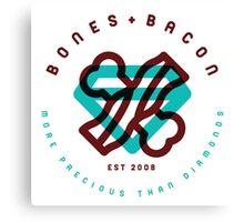 Bones & Bacon R.1 Canvas Print