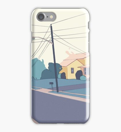 A few streets down iPhone Case/Skin