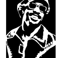 Stevie Wonder by 53V3NH