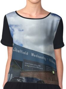 Hillsborough Sheffield Wednesday Chiffon Top