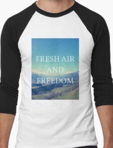 Fresh Air And Freedom Men's Baseball ¾ T-Shirt