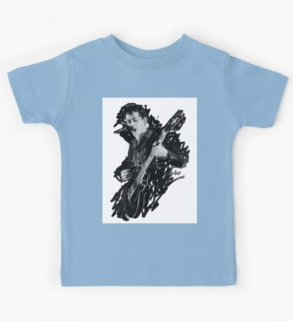 Alex Turner Digital Oil Painting Kids Tee