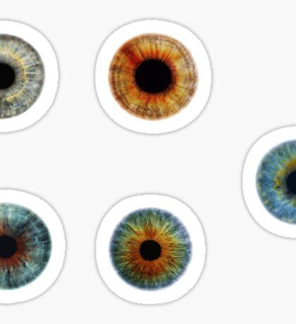 Eyeball sticker set Sticker