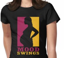 Mood swings Womens Fitted T-Shirt