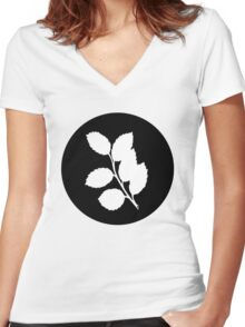 Branch Women's Fitted V-Neck T-Shirt