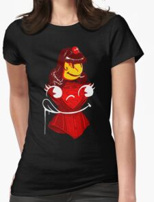 Ms. Corset Womens Fitted T-Shirt
