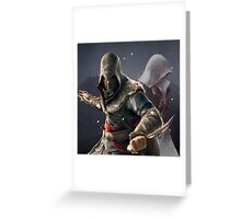 Assassin's Creed - Ezio Auditore Greeting Card