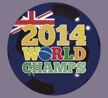 2014 World Champs Ball - Australia Kids Clothes