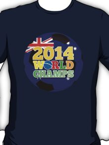 2014 World Champs Ball - Australia T-Shirt
