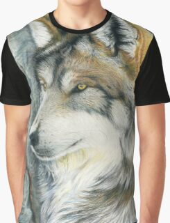 The Grey (but Colorful) Wolf Graphic T-Shirt