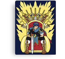 The Hero King Of Emblems Canvas Print