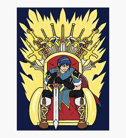 The Hero King Of Emblems Photographic Print