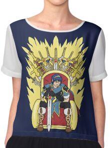 The Hero King Of Emblems Chiffon Top