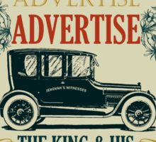 ADVERTISE! ADVERTISE! ADVERTISE! Sticker