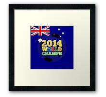 2014 World Champs Ball - Australia Framed Print