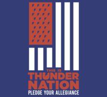 OKC Thunder - Thunder Nation by nineonestate