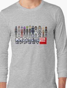 Mass Effect 2 Crew ver. 2 Long Sleeve T-Shirt