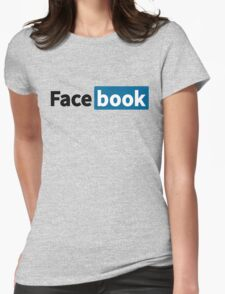 When Linkedin became Facebook. Womens Fitted T-Shirt