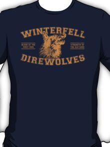 winterfell direwolves old school - orange T-Shirt