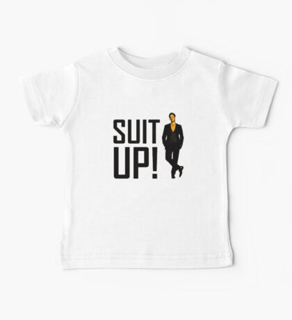 """How I met your mother """"Suit up"""" of Barney Stinson Baby Tee"""