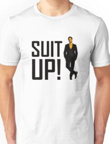 """How I met your mother """"Suit up"""" of Barney Stinson Unisex T-Shirt"""