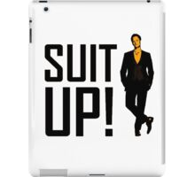 "How I met your mother ""Suit up"" of Barney Stinson iPad Case/Skin"