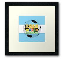 2014 World Champs Ball - Argentina Framed Print