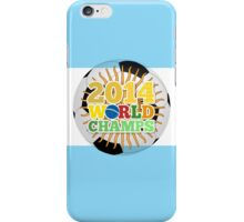 2014 World Champs Ball - Argentina iPhone Case/Skin