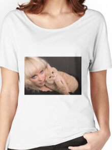 Two Blondes Women's Relaxed Fit T-Shirt