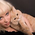 Two Blondes by VioDeSign