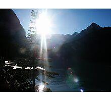 Rocky Mountain Sunshine Photographic Print