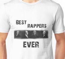Best Rappers Ever - Hamilton (Black text) Unisex T-Shirt
