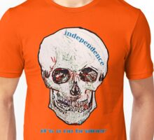 Vincent van Gogh Scottish Independence Skull Tee  Unisex T-Shirt