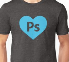 I Love Photoshop. Unisex T-Shirt
