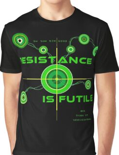 Resistance is Futile Graphic T-Shirt