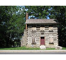 Historic Log Cabin Post Office Photographic Print