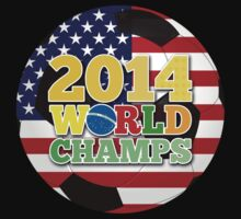2014 World Champs Ball - USA by crouchingpixel