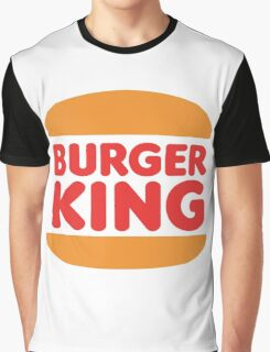 Burger King Logo Products Graphic T-Shirt
