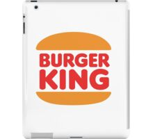 Burger King Logo Products iPad Case/Skin