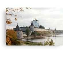 Travel in Russia Pskov Kremlin  Canvas Print