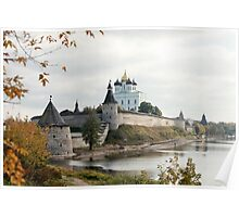 Travel in Russia Pskov Kremlin  Poster