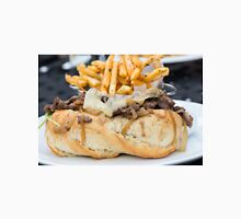 Steak Sandwich and French Fries Unisex T-Shirt