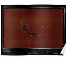 USGS TOPO Map Alaska AK St Matthew 361382 1951 250000 Inverted Poster