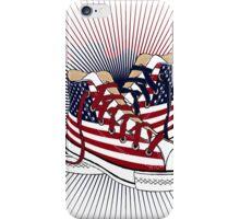 American Teen Patriotic Shoes  iPhone Case/Skin