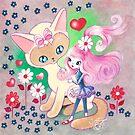 Siamese Kitty Princess by TenshiNoYume