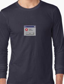 Design Not Found Windows Retro. Long Sleeve T-Shirt