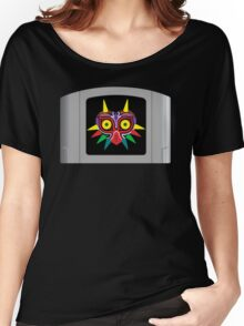 Majora's Mask N64 Cartridge Women's Relaxed Fit T-Shirt