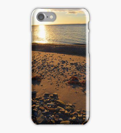 Bras d'Or Beach in Autumn iPhone Case/Skin
