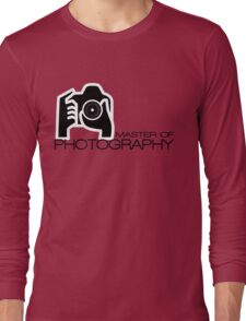 Photographer Camera T-Shirt Long Sleeve T-Shirt