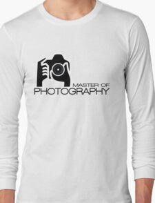 Photographer Camera T-Shirt Long Sleeve T-Shirt